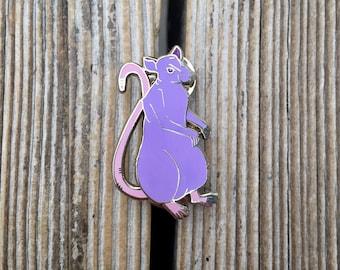 Rat Enamel Pin