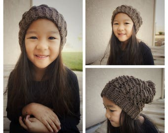 CROCHET PATTERN ONLY* The Venture Slouchy Beanie
