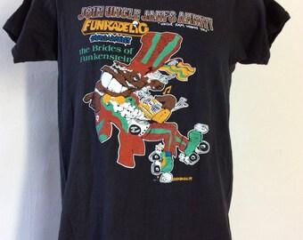 Vtg 1979 Parliament Funkadelic Brides Of Funkenstein T-Shirt S 70s Classic Funk Band George Clinton
