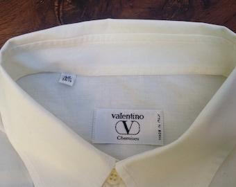 VALENTINO | 80s Valentino | Valentino T-Shirt Men | Vintage Valentino | Men's Shirt Valentino |  80s cotton T-shirt | Mens T-shirt
