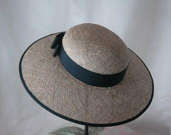 Women's Straw Hat, Wide Brimmed Hat, Sun Hat