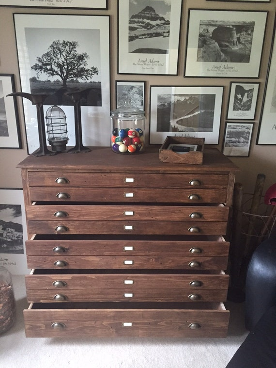 Apothecary cabinet architect file chest map chest drawing like this item malvernweather