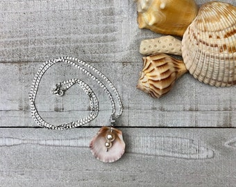 Sanibel Island Scallop Shell Necklace