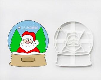 "Snow Globe 7 Cookie Cutter 4"""