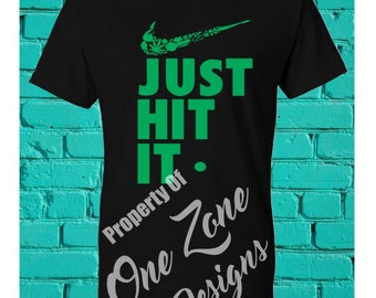 Just Hit It shirts