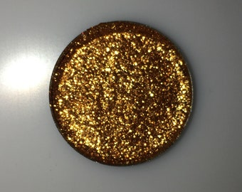 24k Gold Metallic High Quality Pigment Vegan Party Rave Eyeshadow Powder SINGLE