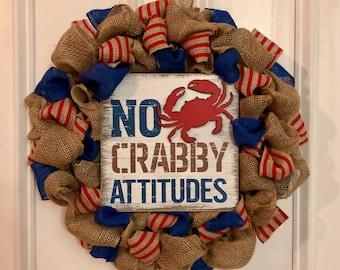 No crabby attidues