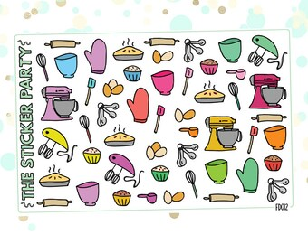 Baking Planner Stickers
