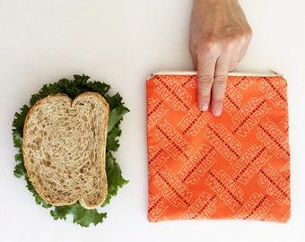 Bag reusable sandwich Reusable snack bags Reusable sandwich bags Quebec Eco - friendly eco-friendly Zero waste in a reusable ziploc bag