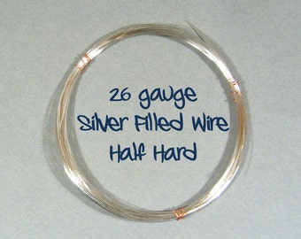 26ga 30ft HH Silver Filled Wire