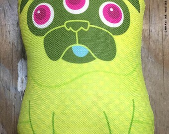 The Pug From Outerspace! - Small Pug-Guise Plush