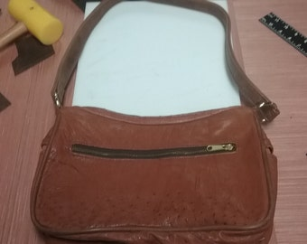 genuine ostrich purse