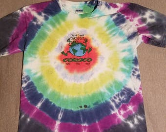 Adult Medium Coppell Earthfest Tie-Dye T-Shirt