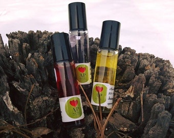 Scented & Essential Body Oils