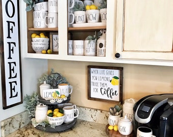 lemon kitchen accessories lemon kitchen decor etsy 3718
