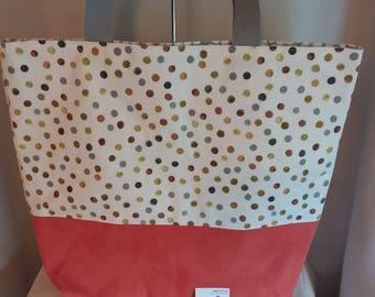 Shopper/Tote,gift, holiday bag.handmade, bespoke.