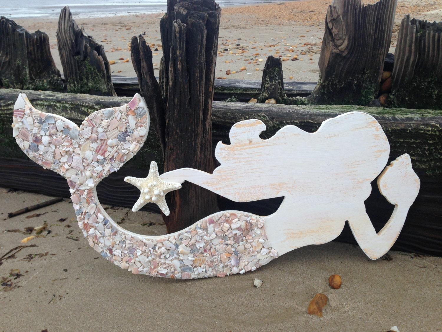 Wood Mermaid Mermaid Art Mermaids Mermaid Shell Art
