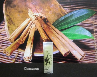 Cinnamon Lip Balm  - 31 Luscious Flavors - 100% Natural