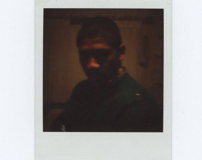 Vintage SX70 Polaroid Snapshot Photo: Hospital (78599)