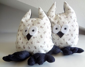 Owl stuffed plush