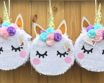 APINATA4U Sale!! Unicorn Pinata with Flowers
