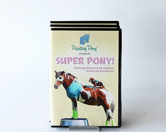 Super Pony DVD - Trick Pony Video // Chincoteague Ponies // Ammo the Dachshund