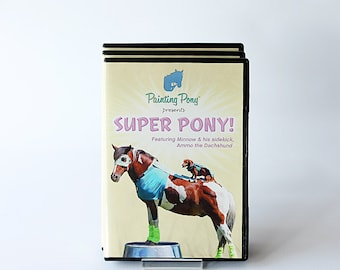 Super Pony DVD - Trick Pony Video // Chincoteague Ponies // Ammo the Dachshund