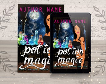 Urban Fantasy Premade eBook Cover- magic story fiction, fantasy novel, cover design, cover art, fantasy book cover artist, ebook designer