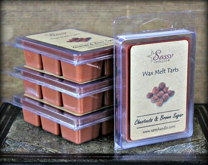 CHESTNUTS & BROWN SUGAR | Wax Melt Tart | Sassy Kandle Co.