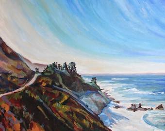 Big Sur #1 fine art reproduction giclee print