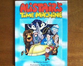 Alistair's Time Machine by Marilyn Sadler - Children's Book - Science Project, Boy Genius