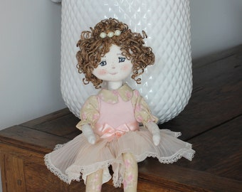 OAK doll collection, doll, rag doll