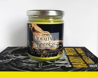 Loyalty & Kindness | Harry Potter Inspired 4oz or 8oz. Scented Candle