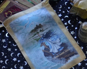 Otherworld, The Hidden Path Cat Oracle or Tarot Bag