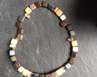 Bracelet Brown and gray