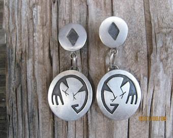 Vintage Hopi Earrings