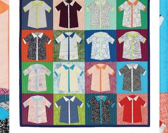 Shirts Quilt - Pattern by Carolyn Friedlander