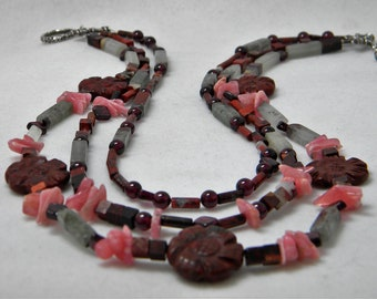 Joyous Jasper neck piece