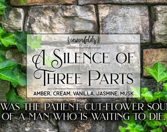 A Silence of Three Parts | The Name of the Wind Inspired 4oz. or 8oz. Scented Soy Candle