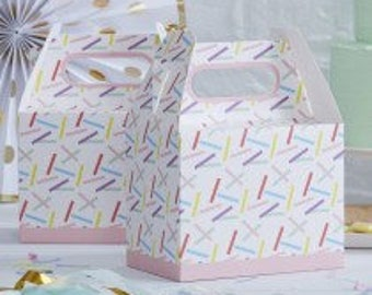 Sprinkles Party Boxes/Party Boxes/Birthday party/5 x 20cm H party boxes