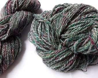No. 77 - 2 Skeins of Hand Spun Yarn