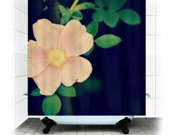 Tissu rideau de douche - rose, fleur, floral, nature, décoration de salle de bains - parfaitement jolie - Photograpy RDelean