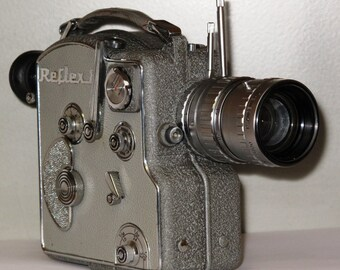 CAMEX ERCSAM Reflex 8mm camera  Made in France 8 mm single-lens reflex movie camera, beautiful condition