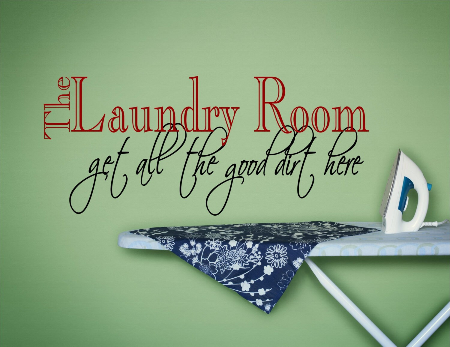Laundry Decal Wall Decor Beauteous Laundry Wall Decal Laundry Wall Art Laundry Wall Decor Inspiration Design