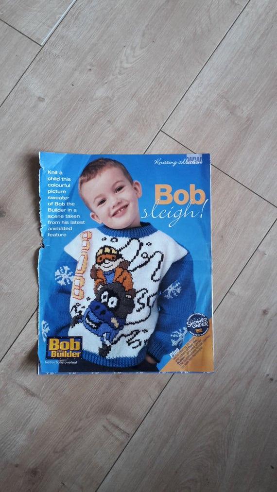 Hermosa Bob El Builder Tejer Embellecimiento - Manta de Tejer Patrón ...