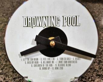 Drowning Pool CD Clock