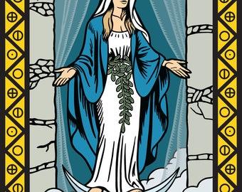 The Priestess Tarot