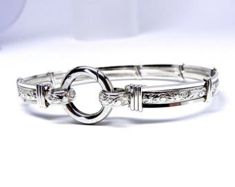 "Michelles Custom 14.75"" Collar, cuffs & shackles set in Pure Elegance design"