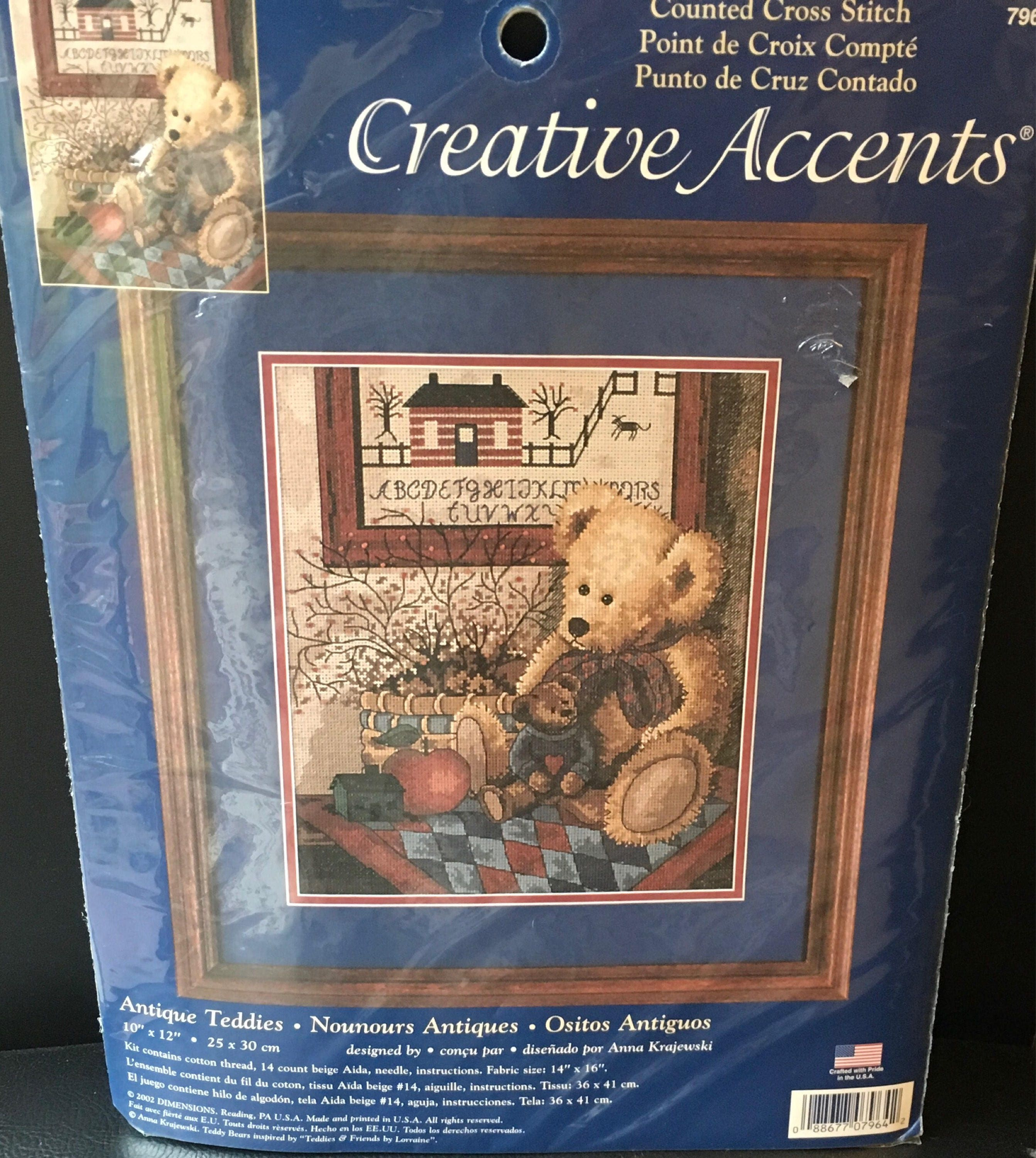 Creative Accents Counted Cross Stitch Kit 7964 Antique
