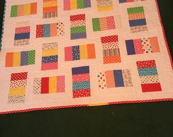 Baby Crib or Play Time Quilt REDUCED